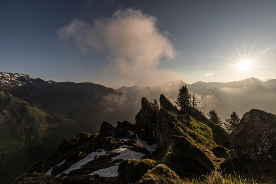 Blick ins Ostrachtal