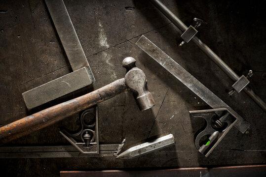 Metalworkers tools