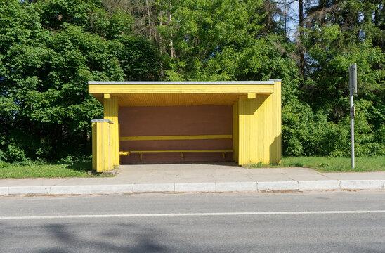 Yellow Bus Stop.