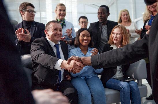 Meeting Corporate Success Brainstorming Teamwork Concept