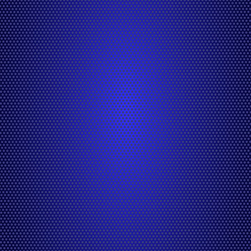 Abstract blue perforated background with highlights - Vector