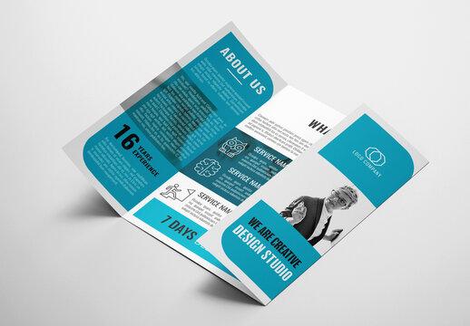Business Single Gate Brochure Layout