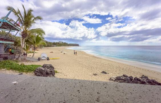 Plage de Boucan Canot, Saint-Gilles-les-Bains, île de la Réunion