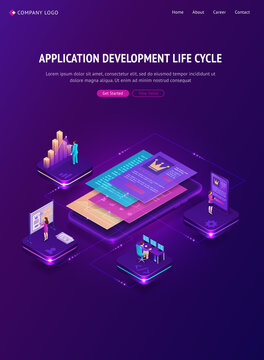 Application development life cycle banner