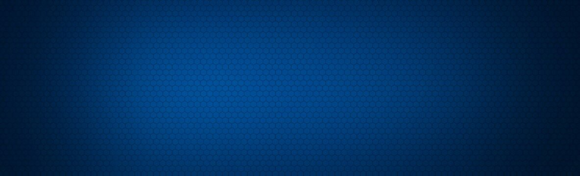 Abstract banner background blue blur gradient with bright clean
