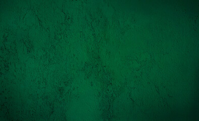 rough dark green concrete or cement surface background with space for text. beautiful abstract...