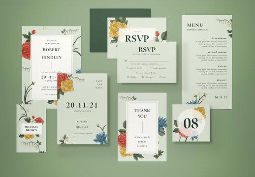 Wedding Invitation Layout 2