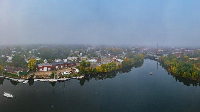 Maine-Biddeford-Saco River