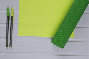 Kartka żółta arkusz papieru