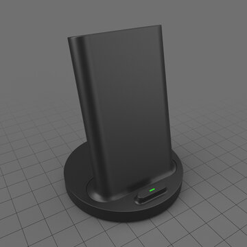Wireless fast charging station
