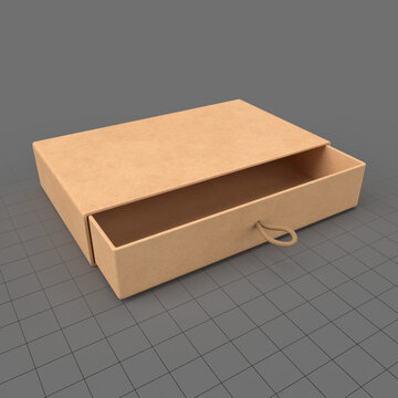 Cardboard drawer gift box 1