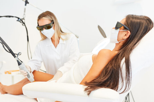 Hair removal with the alexandrite laser