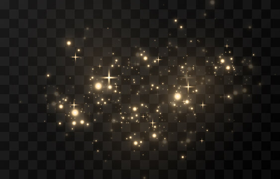 Light glowing effect star glow sparkles flash dust shining dots colour colourful sun sky white gold bright shine yellow explosion space energy garland backgrounds glare transparent luminous magic.