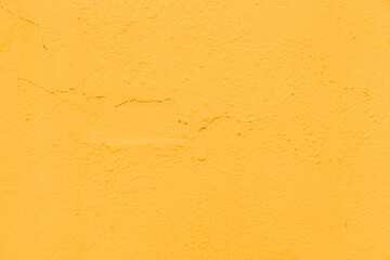 Fototapeta Old Yellow cement wall peeling paint texture and background seamless obraz