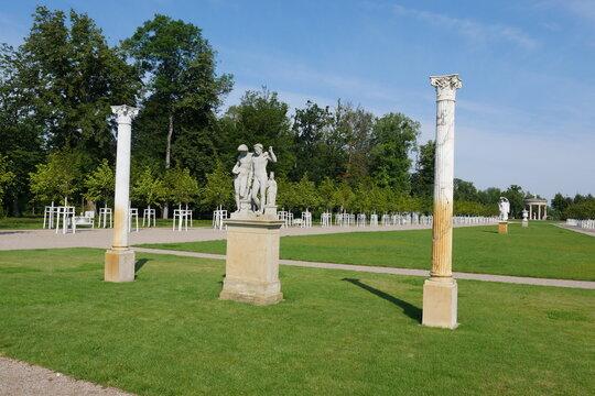 Barockgarten im Schlossgarten Neustrelitz