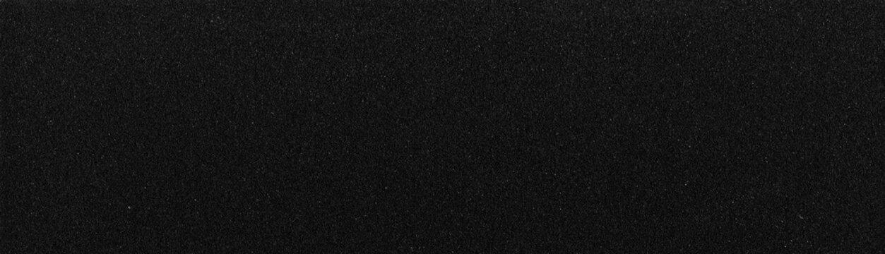 High rectangular black sandpaper texture, background sanding paper