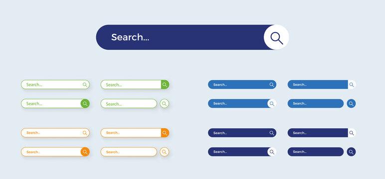 Barre De Recherche Site Web