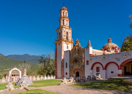 Misión de Tilaco, Landa de Matamoros, Querétaro, México