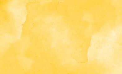 Beautiful yellow watercolor background - fototapety na wymiar