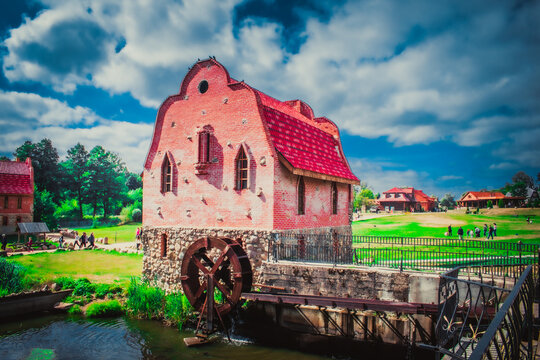 Watermill in the historic city
