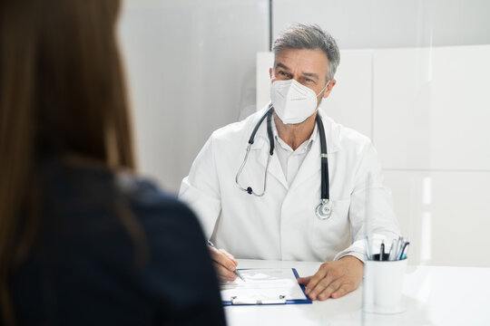Doctor Healthcare Medical Meeting With Patient