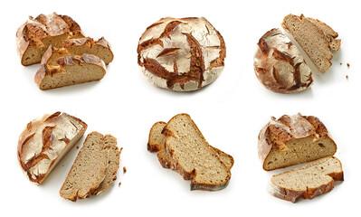 slices of freshly baked bread