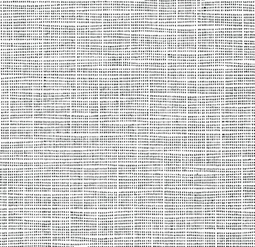 Grainy messy overlay of empty, aging, scratched wall. Lines, dots and spots structural texture. Cool and artsy faux leather background. Abstract vector illustration. Black isolated on white. EPS10