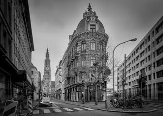 Roads Amidst Buildings In City Against Sky