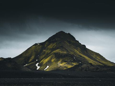 Green moody mountain