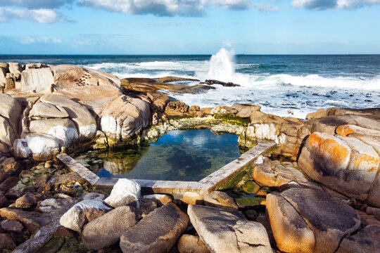 Bantry Bay Saunders' Rocks Beach Tidal Pool Aerial View