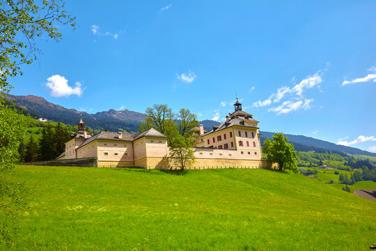 South Tyrol impressions, Wolfsthurn Castle near Ratschings, South Tyrolean State Museum, (Italy)