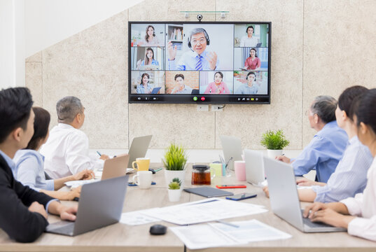 web conferencing in office