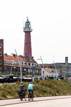 Leuchtturm von Scheveningen.