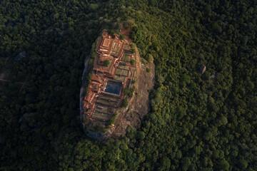 Fototapeta Sigiriya lion rock fortress, Sri Lanka