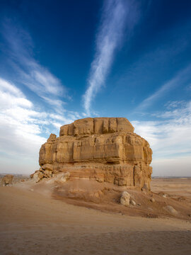 our Mountains near Hofuf in Saudi Arabia