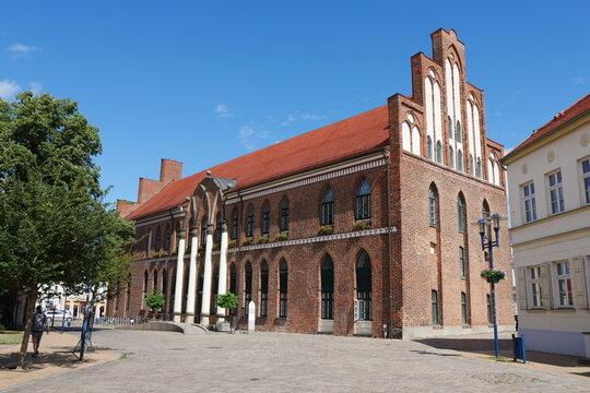 Rathaus in Parchim in Mecklenburg-Vorpommern