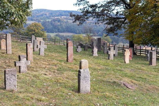 Medieval Graveyard