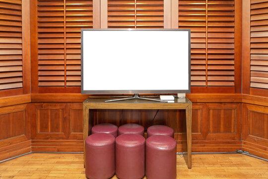 Tv Screen in Cabin