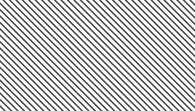 Abstract black monochrome stripe pattern design. Minimal striped surface isolated on white background. Vector
