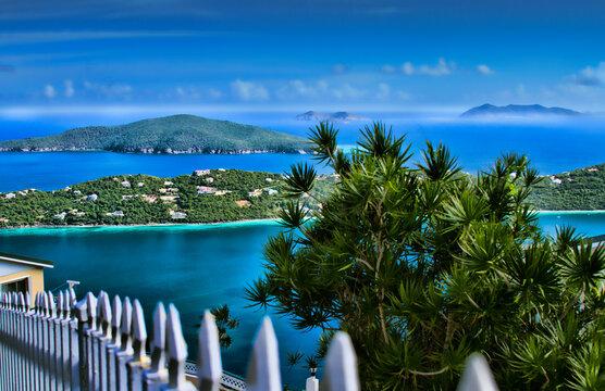 Atlantic Ocean, St. Thomas, US Virgin Islands.