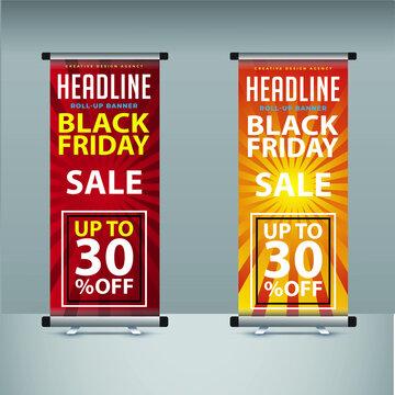 2021 super sale offer roll up banner template eps 10 edit fill