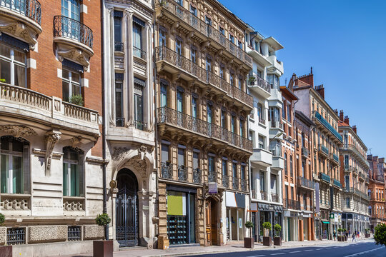 Street in Toulouse, France