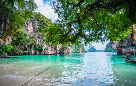 Lading Island or Paradise Island in Krabi, Thailand.