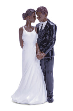 African American Wedding Topper