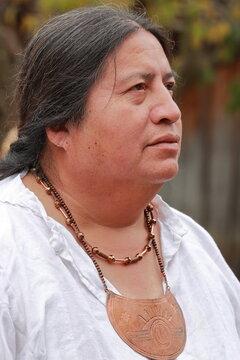 portrait of Cherokee Indian