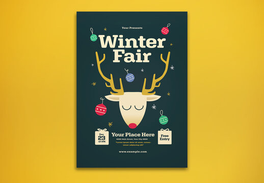 Winter Fair Flyer Layout