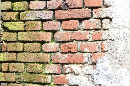 Über 100 Jahre alte Ziegelsteine - Antik, Retro, alte Ziegelsteine, Backsteine