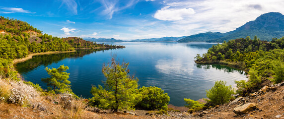 Koycegiz Lake view in Turkey