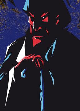 satan evil vector illustration