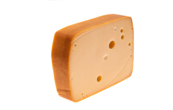 Swiss cheese isolated